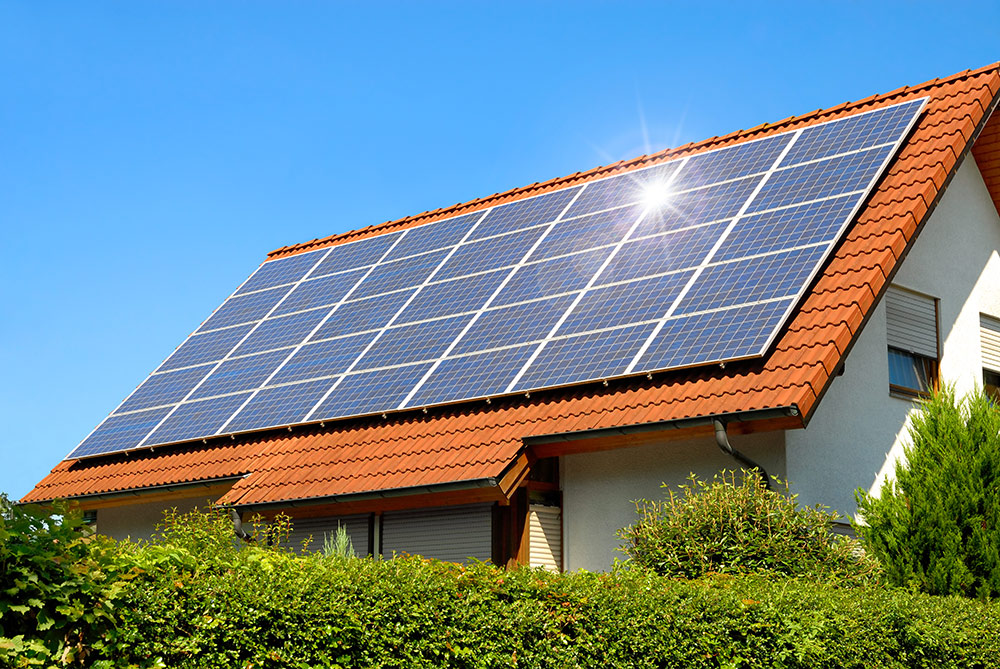 Photovoltaik Module reinigen